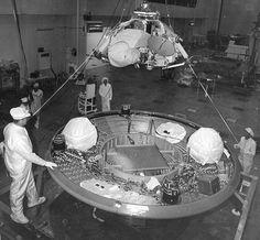 Building the Viking Spacecraft #1 at Martin Marietta, Denver, CO in 1973