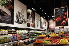Líquidos sustentáveis Embalagem: embalagem por Ecoclean Supermarket Design, Retail Store Design, Retail Shop, Organic Supermarket, Food Signage, Store Signage, Retail Signage, Signage Design, Retail Branding