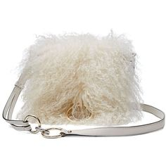 DVF Love Power Mongolian Fur Saddle Bag ($398) ❤ liked on Polyvore featuring bags, handbags, shoulder bags, crossbody shoulder bags, cross-body handbag, fur shoulder bag, diane von furstenberg crossbody and crossbody saddle bag purse