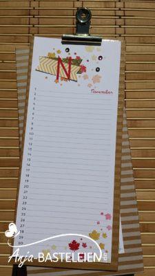 Projektset Kalenderkunst - Workshop