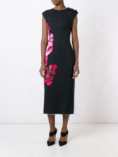 Dolce & Gabbana Vestido midi de seda