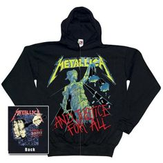 Metallica - And Justice For All Zip Hoodie