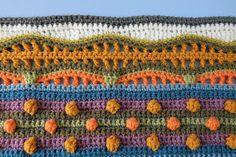 knit & crochet design: Sunshine and Showers - Part 6