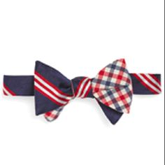 Brooks Brothers. The bowtie, essential for the more casual gentlemen among us, and can look smashing if a few unwritten rules are adhered to