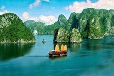 Halong Bay Vietnam. Paisajes más impresionantes del planeta