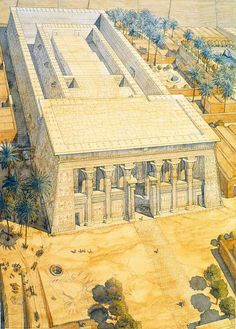Egypt - Esna - Temple of Khnum http://jeanclaudegolvin.com/
