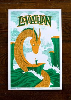 """""""Leviathan"""" by John Solimine for Familytree  $35"""