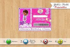 Doc Mcstuffins ID Badge Doc Mcstuffins by YellowFieldsDesigns  https://www.djs.durban