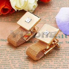 luxury cuff-links with chain from aliexpress.com