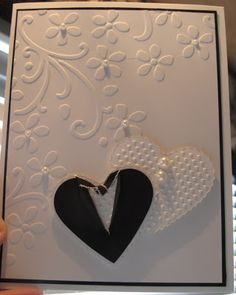 In My Craft Room: Embossed Wedding Hearts