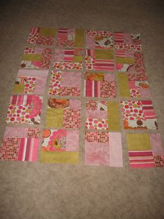 The latest baby blanket. | Three Clever SistersThree Clever Sisters
