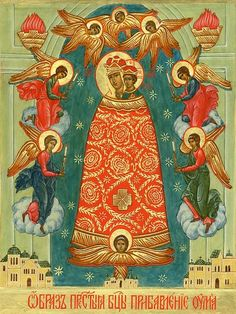 Queen Of Heaven, Orthodox Christianity, Religious Icons, Orthodox Icons, Virgin Mary, Satan, Madonna, Religion, Artwork