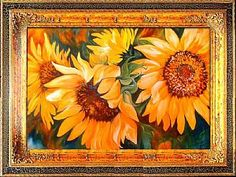 THE SUNFLOWERS - by Marcia Baldwin from Florals