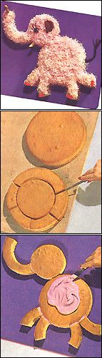 Jam Handy!: Ella Elephant Cake © 1959 My mom made these cakes for me when I was growing up - I still have the little booklet!