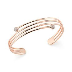 STYRA REESE: 14k rose gold coiled into a lightweight statement cuff. An everyday stacking piece!