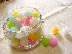 Kompeito! Pretty sugar candy! And yes, food for soot sprites :)