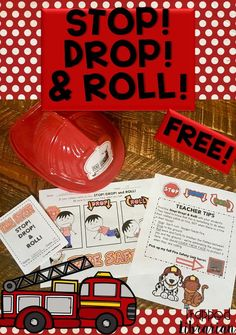 Fire Prevention Week Fun for Your Students! Fire Prevention Week is always the week in October (from Sunday to Saturday) in which the falls. This is a great time to remind your students of important safety tips for preventing fires and staying sa First Grade Activities, Kindergarten Activities, Classroom Activities, Fire Safety For Kids, Fire Safety Week, Fire Prevention Week, Geography For Kids, Library Skills, Classroom Freebies