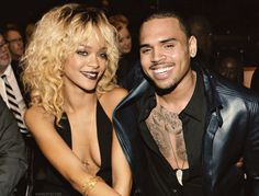 Rihanna And Chris Brown 2012 photo photo