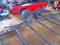 Gokart Plans 775393260825837210 - Bagged bodydropped trailer – Page 2 – Street Source The Ultimate Custom Automotive Resource Source by Welding Trailer, Trailer Diy, Off Road Trailer, Trailer Plans, Trailer Build, Semi Trailer, Atv Trailers, Custom Trailers, Motorcycle Trailer