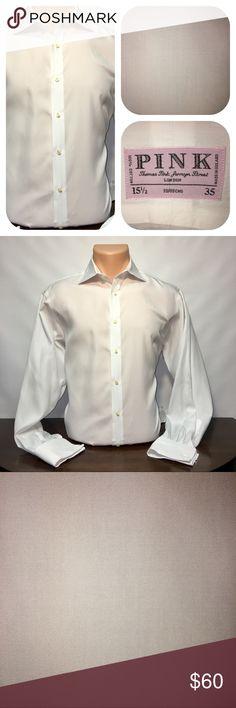 Thomas Pink - Formal White - French Cuff - 15.5/35 Thomas Pink - Formal White - French Cuff - 15.5/35 Thomas Pink Shirts Dress Shirts
