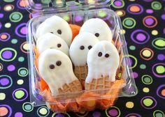 Nutter Butter Ghosts .... okay, so we love!