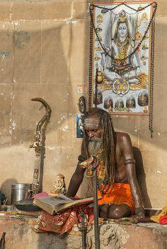 Sadhu, The Ganges, Varanasi, India
