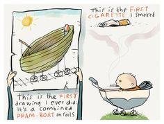 'My First Cigarette' by Ellis Nadler