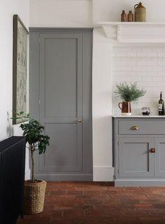 Shaker Kitchens by deVOL - Handmade Painted English Kitchens Devol Shaker Kitchen, Devol Kitchens, Rustic Kitchen Cabinets, Grey Kitchens, Painting Kitchen Cabinets, Kitchen Paint, Kitchen Grey, English Kitchens, Loft Kitchen