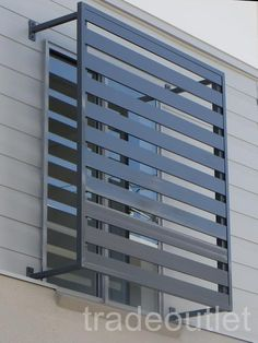 aluminum slated fence   Details about 9mm Aluminium Slat Fence Panels & Privacy Screens ...