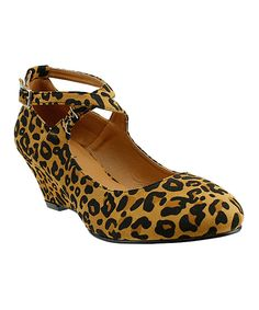 Love this Leopard Fifi Pump by Red Circle Footwear on #zulily! #zulilyfinds