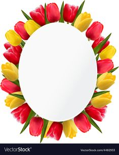 Colorful tulip flowers background Happy mothers vector image on VectorStock Colorful Wallpaper, Flower Wallpaper, Ceramic House Numbers, Lavender Tattoo, Diy Leather Bracelet, Page Borders Design, Scrapbook Frames, Borders And Frames, Tulips Flowers