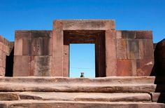 Gateway of the Moon, Tiahuanaco, Bolivia