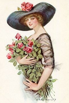 CD VICTORIAN WOMEN Clipart Illustrations Ladies by scrapnow, $4.99