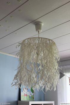 lamppu,valaisin,Tee itse - DIY,tee itse,käsityöt,paperinaru,paperinaruvalaisin,makuuhuone