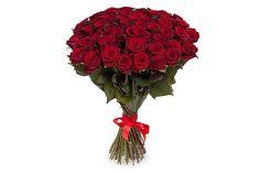 удивительный Букет 51 роза 60/70 см  #70см #Букеты #Оригинальныебукеты,Букет51роза60