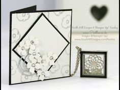 South Hill Designs & Stampin' Up! Sunday Diamond Locket Card