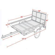 Northstar® Sportstar I ATV / Utility Trailer Kit                                                                                                                                                                                 Más