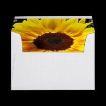 Sunflower and Friends Bouquet Envelope ($0.90) | Stationery & Postage: http://www.zazzle.com/bluebeachsong*/gifts?cg=196561712040649018 & http://www.zazzle.com/mhevia*/gifts?cg=196619517871327708