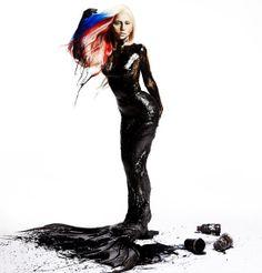 Lady Gaga photographed by Inez & Vinoodh - Visionaire Magazine, 2011