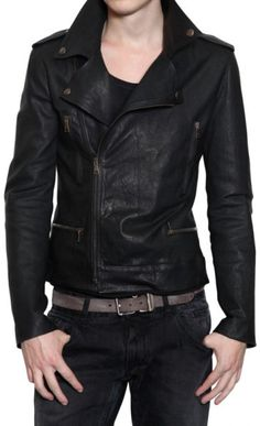 Shell cowhide skin Interior Polyester lining YKK Zipper used Water resistant Four front pockets One inside pocket Front zip fasten Ship Via Dhl and sky net worldwide Men's Leather Jacket, Biker Leather, Leather Men, Jacket Men, Leather Jackets, Biker Jackets, Leather Fashion, Mens Fashion, Fashion Edgy