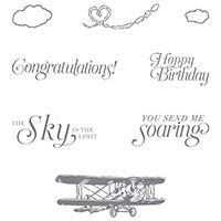Sky Is the Limit Clear-Mount Stamp Set