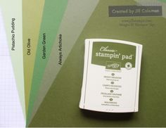 Stampin' Up! Mossy Meadow Color Comparison