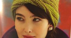 A Mobius twist worked in the cast-on rounds creates a jaunty turned-up brim on this fresh and flattering topper.