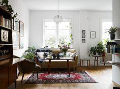 Old furniture. Sufficient. retro, living, interior, string shelf system