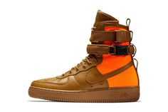 Preview  Nike SF AF-1 High  Brown Orange  - EU Kicks 0357ca6f401