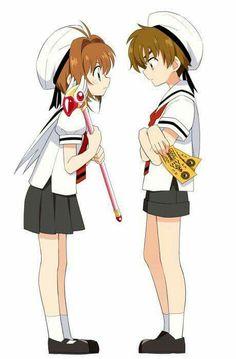 sakura syaoran shaoran fanart ccs tsubasa kiss
