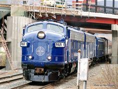 Vintage PanAm Train