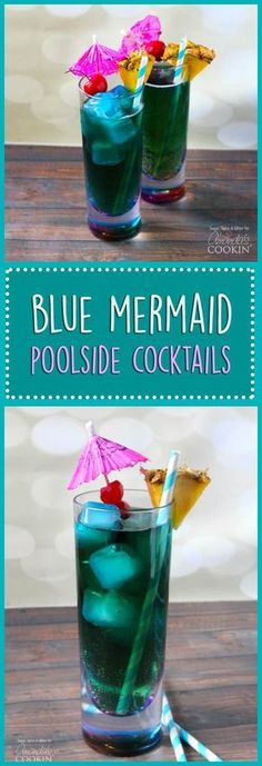 Blue Drinks: The Mermaid Cocktail, blue mixed drinks Blue dr. - Blue Drinks: The Mermaid Cocktail, blue mixed drinks Blue drinks are popular, a - Popular Mixed Drinks, Summer Mixed Drinks, Best Mixed Drinks, Mixed Drinks Alcohol, Drinks Alcohol Recipes, Popular Bar Drinks, Disney Mixed Drinks, Fun Summer Drinks Alcohol, Drink Recipes
