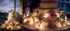 Wedding Cake | Candles © Matt Ramos Photography