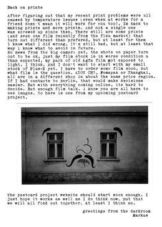 Back on prints : darkroomtales Im Back, Work On Yourself, It Works, Words, Blog, Prints, Blogging, Nailed It, Horse